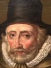 detail of Thomas Hobson portrait