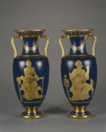 Pair of Sèvres Vases