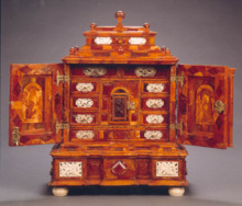 Amber Cabinet