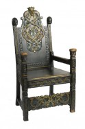 Kinsarvik Throne Chair
