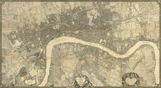 John Rocque. Map of London