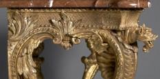 German gilt table