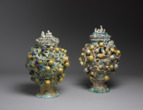 Pair of pot pourri holders