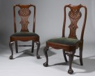 Pair of Unusual Side Chairs