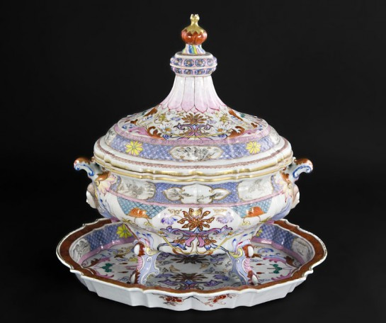 Chinese export tureen