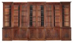 Very large Regency Bookcase